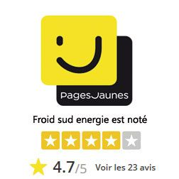 Avis pages jaunes Froid sud energie
