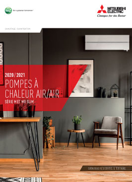 Catalogue Mitsubishi electric pac airair 2020 2021